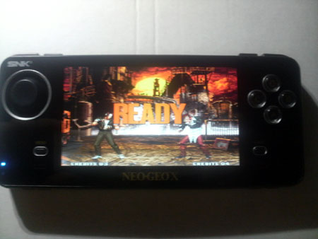 NEOGEOXのゲーム画面
